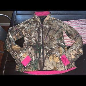 Real tree camo jacket medium